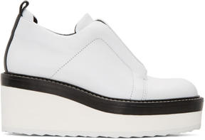 Pierre Hardy White Mega Slider Sneakers