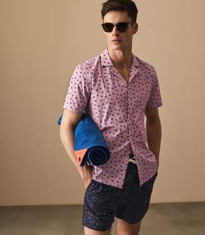 Reiss Cabanna Starfish Print Shirt