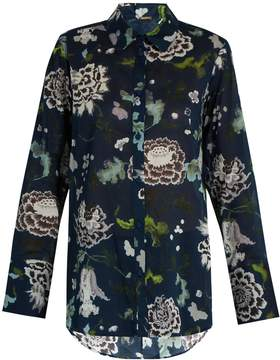 ADAM by Adam Lippes Floral-print cotton shirt