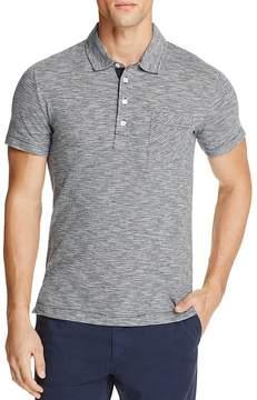 Billy Reid Striped Slim Fit Polo Shirt