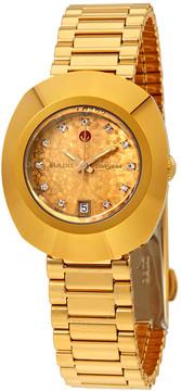 Rado Original Yellow Gold Dial Ladies Watch