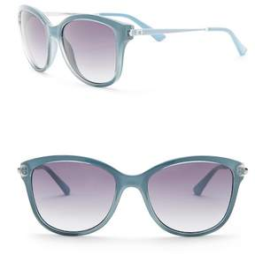 GUESS 56mm Round Sunglasses