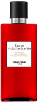 Hermes Eau De Rhubarbe Ecarlate - Hair And Body Shower Gel