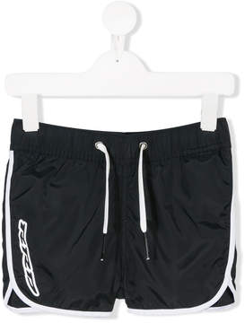 Trunks Rrd Kids logo swim shorts