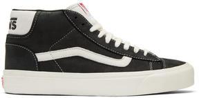 Vans Black OG Mid Skool Lite LX Sneakers