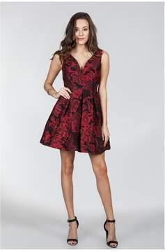 Ark & Co Esmerelda's Evening Elegance Jacquard Dress
