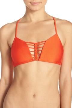 Luli Fama Convertible Braided Bikini Top