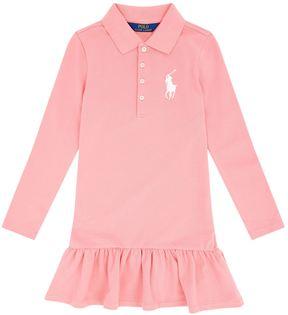 Polo Ralph Lauren Long Sleeve Polo Shirt Dress