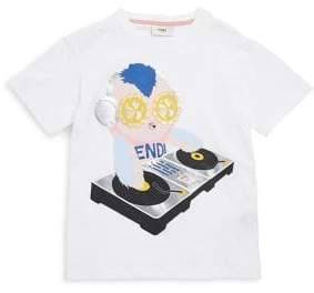Fendi Toddler's, Little Girl's and Girl's Graphic Cotton T-Shirt