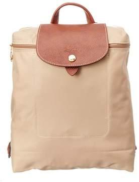 Longchamp Le Pliage Nylon Backpack. - BEIGE - STYLE