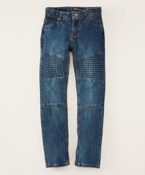 DKNY Indigo & Natural Core Motto Jeans - Boys