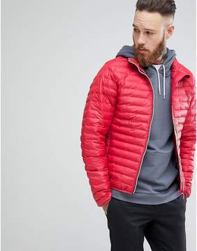 Hunter Padded Mid Layer Jacket in Red