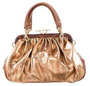 Marc Jacobs Python Stam Bag - GOLD - STYLE