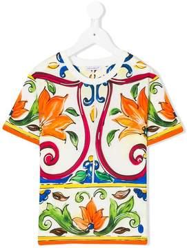 Dolce & Gabbana Majolica print T-shirt