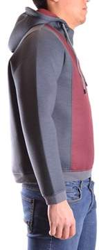 Reign Men's Burgundy/grey Polyester Sweatshirt.