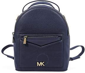 Michael Kors Jessa Small Pebbled Leather Convertible Backpack- Admiral - ONE COLOR - STYLE