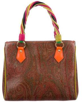 Etro Leather Handle Bag