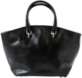 Vanessa Bruno Box Black Leather Handbag