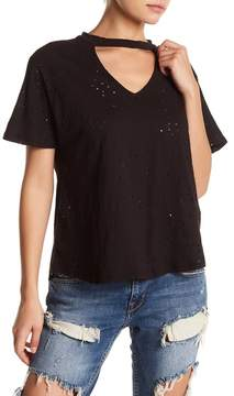 Dee Elly Cutout Short Sleeve Tee