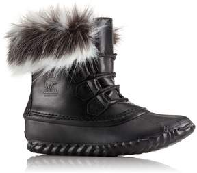 Sorel Womens Out 'N About Fur Lux Boot