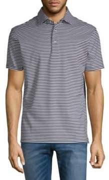 Stampd Cotton Jersey Stripe Polo