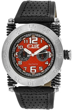 Equipe Tritium Coil Red Dial Men's Watch