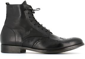 Alexander Hotto Lace-up Brogues Boots
