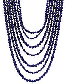 BaubleBar Bold Beaded Multi-Strand Necklace