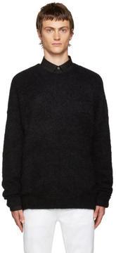 Acne Studios Navy Mohair Kosti Sweater