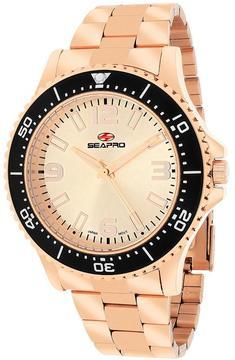 Seapro SP5334 Men's Tideway Rose Gold Stainless Steel Watch