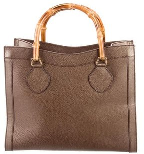 Gucci Vintage Bamboo Tote - GOLD - STYLE