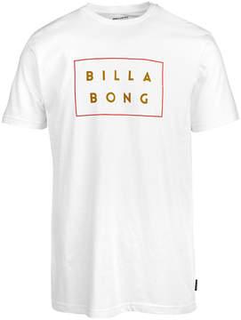 Billabong Men's DieCut Box Logo T-Shirt