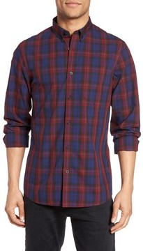 Nordstrom Men's Slim Fit Plaid Sport Shirt