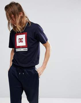 DC T-Shirt With Front Box Logo