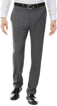 Claiborne Sharkskin Flat-Front Pants - Classic
