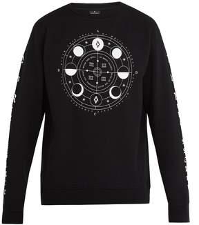 Marcelo Burlon County of Milan Menel crew-neck cotton sweatshirt