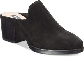 DKNY Times Block-Heel Mules, Created For Macy's
