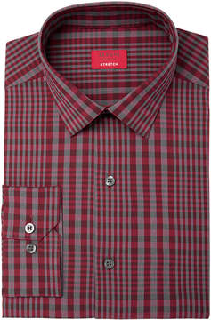 Alfani Men's Slim-Fit Stretch Bold Even Plaid Dress Shirt, Created for Macy's