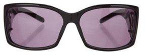 Montblanc Oversize Logo-Embellished Sunglasses