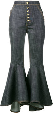 Ellery Hysteria high waist ultra kick flare jeans