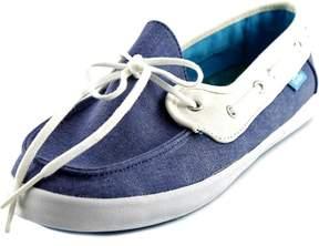 Vans Chauffette Women US 5.5 Blue Loafer