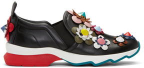 Fendi Black Flowerland Sneakers
