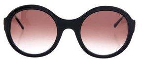 Thierry Lasry Gradient Round Sunglasses