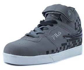 Fila Vulc 13 Digital Fade Round Toe Synthetic Sneakers.