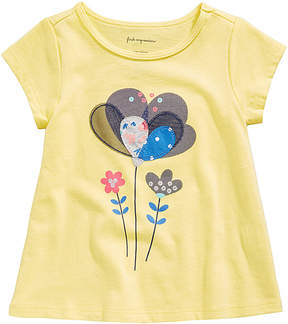 First Impressions Sweet Chic Flower T-Shirt, Baby Girls (0-24 months), Created for Macy's