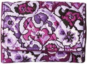 Vera Bradley Rfid Riley Compact Wallet Wallet Handbags - AUTUMN LEAVES - STYLE