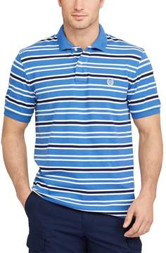 Chaps Big & Tall Classic-Fit Striped Polo