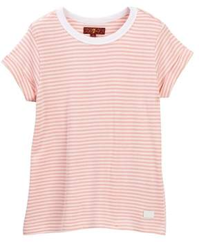 7 For All Mankind Slouchy Tee (Little Girls)
