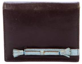 Anya Hindmarch Leather Compact Wallet