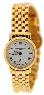 Frederique Constant FC235 Gold Tone Stainless Steel Quartz 23mm Womens Watch